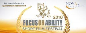 the focus on ability short film festival logo