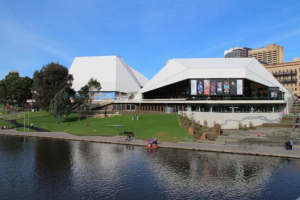 adelaide festival centre photo on the bank of the Torrens