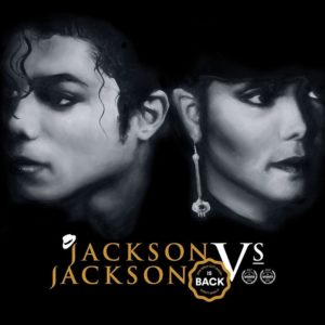 black back ground an images of michael and janet jackson. Adelaide Fringe Accessibility